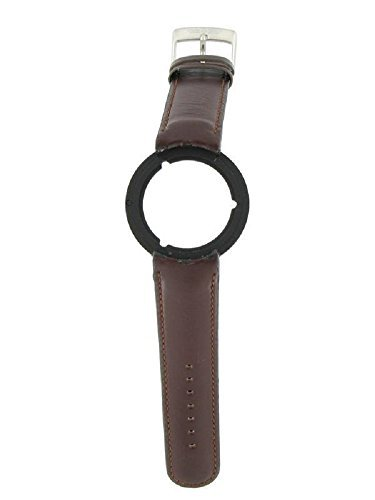 Genuine Swiss Army Brown Leather Seaplane Series 20mm Watch Band