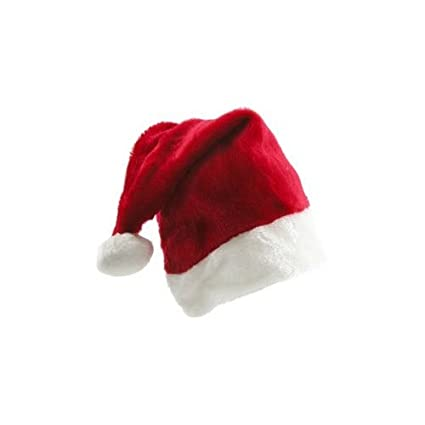 Amazon.com  Santa Claus Hat is Plush Fuzzy and Fun!  Toys   Games 1e572d629ba