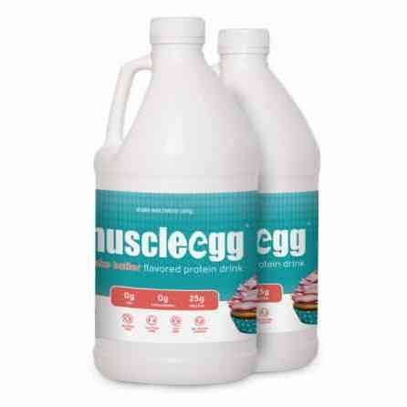 MuscleEgg Cake Batter Liquid Egg Whites Protein – 2 half-gallons Review