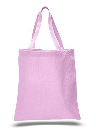1 Dozen - Heavy Cotton Canvas Tote Bag