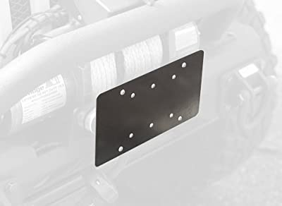 Rugged Ridge 11238.07 Bracket Hawse Lic Plate