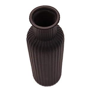 Home Design Studio Nero Dritto Effetto Geometrico Vaso