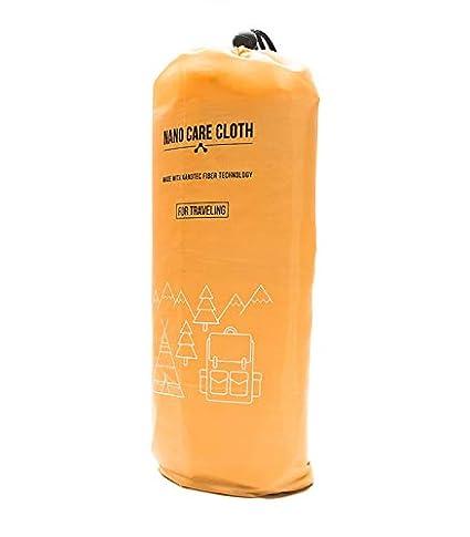 Toalla Nano Care de microfibra para playa y viajes, XXXL con bolsa de almacenamiento,