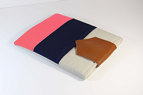 Color-Block-13-inch-Macbook-Pro-Case-Cover-with-Pocket-Custom-Fit-Laptop-Sleeve-11-15-inch