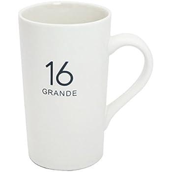 Amazon Com Starbucks Etched Siren Mug 16 Fl Oz Coffee