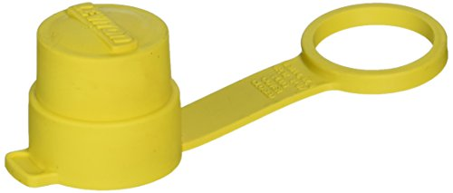 Leviton 14W Watertight Cap For Straight Blade Plugs In I5 Amp and 20 Amp, and Locking Plugs In 15 Amp, Wetguard IP66