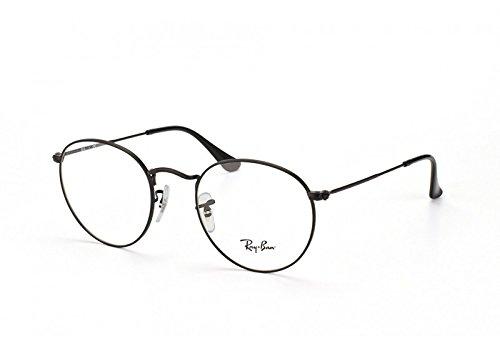 Ray-Ban Lunettes de vue pour homme Noir RX 3447V ROUND METAL 2503 50 ... a1768e8cfa53
