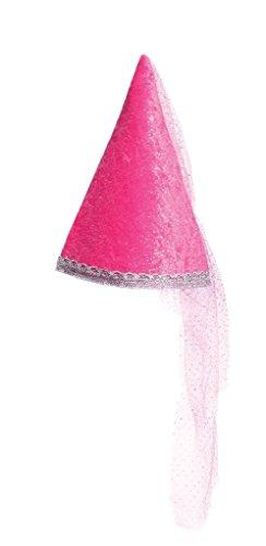 Great Pretenders Dark Pink Diamond Sparkle Hat ()