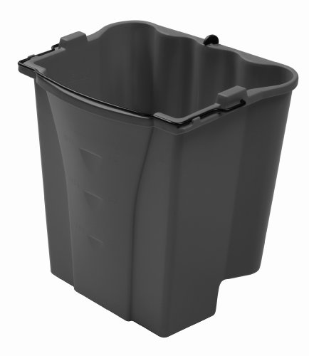 Rubbermaid Commercial Executive Series Dirty Water Bucket, Gray (1863900) ()