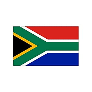 Amazon Com South Africa Flag Rectangular Magnet