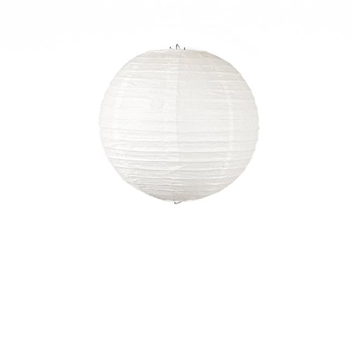 LinenTablecloth White Paper Lantern, 12-Inch
