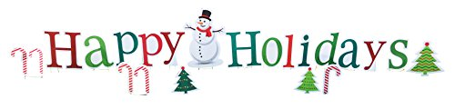 Happy Holidays Sign (Happy Holidays - Advanced Graphics Outdoor Life Size Standup Yard Sign - For Outdoor Use)