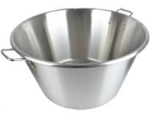 Cazo Grande Para Carnitas Extra Large 25'' inch Stainless Steel Heavy Duty Acero Inoxidable Wok comal Fry