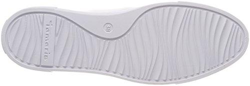 Tamaris 23766, Sneakers Basses Femme Blanc (White Comb)