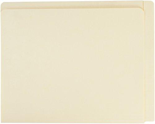 Smead 24190 Conversion File Folders, Straight Cut Top Tab, Letter, Manila (Box of 100)
