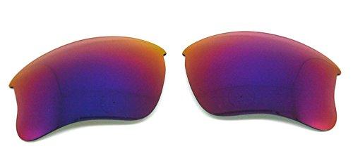 Polarized Replacement Lenses for Oakley Flak Jacket XLJ Sunglasses (Midnight Sun)