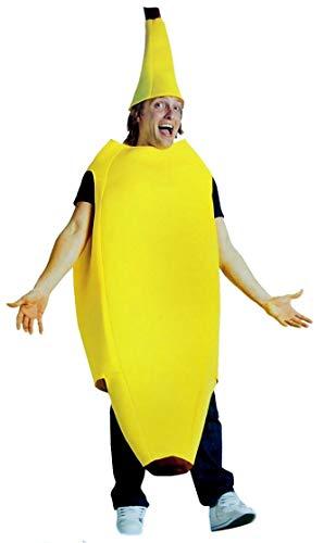 Big Banana costume adult Yellow Standard
