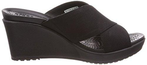 Femme Noir 204949 noir Pantoufle Crocs H0qA7E1