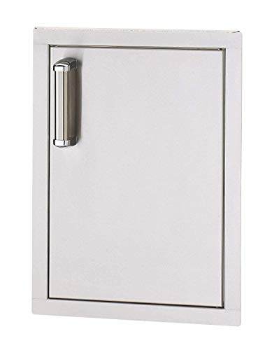 Fire Magic Premium Flush 14-inch Left-hinged Single Access Door - Vertical With Soft Close - 53920sc-l