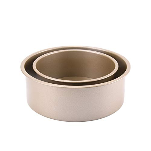 Carbon Steel Round Baking Box Set Nonstick Baking Pan Oven Tray Candy Making Supplies Kitchenware for Oven and Toaster…
