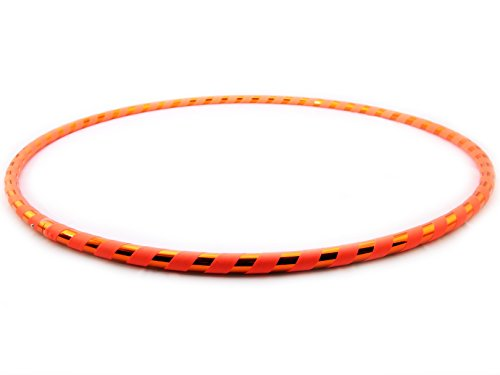 Weighted Hula Hoop for Exercise. Your Choice of Color. Made in The USA. (Citrine, Large - 40