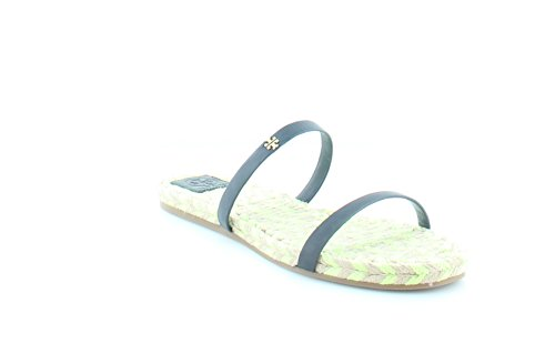 Tory Burch Two-Band Women's Sandals & Flip Flops Navy Size 1
