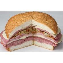 Gambinos Muffuletta Bread, 9 inch -- 24 per case.