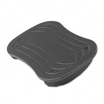 Safco® Rock N Stop Adjustable Footrest FOOTREST,ADJ,ROCKING,BK (Pack of2)