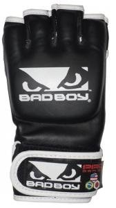 Bad Boy MMA Competition Black Fight Gloves - 4Oz - S/M