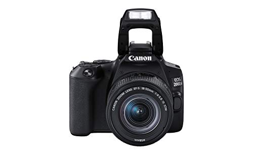 Canon EOS 200D II 24.1MP Digital SLR Camera + EF-S 18-55mm f4 is STM Lens (Black) + Arctic Fox Sling Shutter Topography… 4