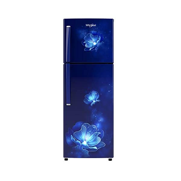 Whirlpool 245 L 2 Star Frost-Free Double Door Refrigerator (NEO 258LH ROY SAPPHIRE RADIANCE (2S)-N, Blue) 2021 July Important note : This product is 3-star rated as per 2019 BEE rating and 2-star rated as per 2020 BEE rating Frost-free refrigerator; 245 litres capacity Energy Rating: 2 Star