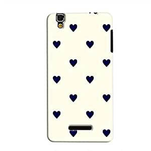 Cover It Up - Purple Hearts YU YurekaHard Case