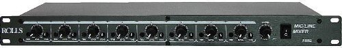 Rolls RM82 8 Channel Mic/Line Mixer