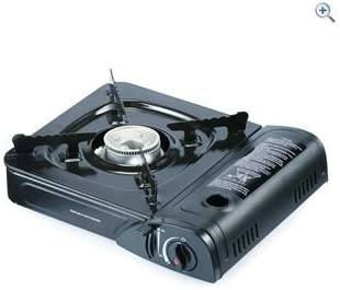 Portable Camping Gas Cooker Stove Hob & Carry Case by PowerPlus