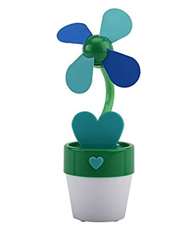 Amazon O2 Cool Usb Or Battery Operated Flower Fan With Night