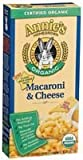 Annies Homegrown Organic Classic Macaroni and Cheese, 6 Ounce - 12 per case