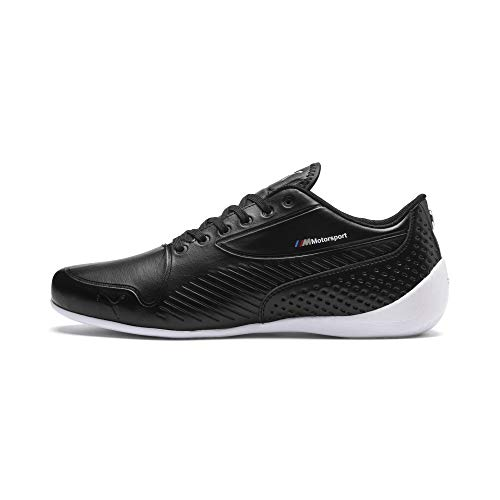 (PUMA Mens BMW MMS Motorsport Drift CAT 7s Ultra Black Athletic Driving Shoes (9.5))