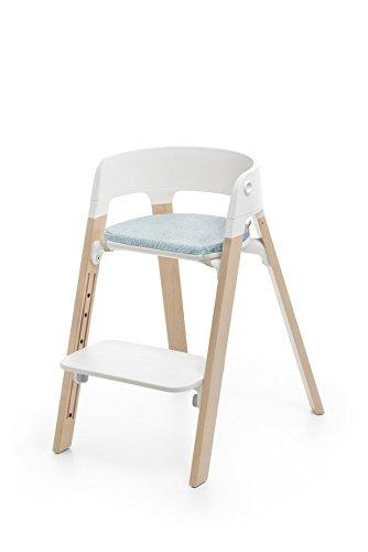 Amazon.com: Stokke pasos cojín de silla, Jade, de sarga: Baby