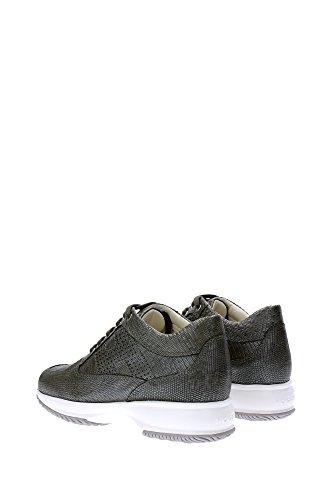 Sneakers Hogan Donna Pelle Verde HXW00N00E30BT9V604 Verde 38.5EU