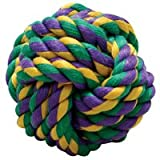Multi Pet Nuts for Knots Cotton Rope Ball Small 2.5″, My Pet Supplies