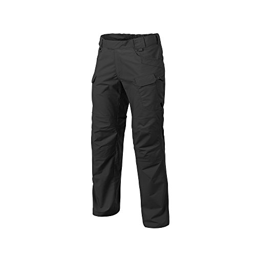HELIKON-TEX Urban Line, UTP Urban Tactical Pants Ripstop Black, Military Ripstop Cargo Style, Men's Waist 32 Length 30