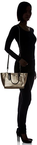 Coach Textured Gold Leather Small Womens Handbag Crossbody vvfOwSq