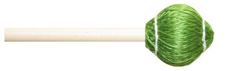 Hard Birch Mallets (Mike Balter 22B Pro Vibe Series Medium Vibraphone Mallets with Birch Handles, Hard Green)