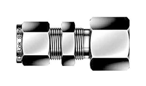 1//2 Tube OD x 1//2 FNPT Bulkead Union Fitting 316ss DK-Lok DCBF 8-8N-S