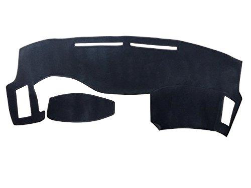 Hex Autoparts Dash Cover Mat Dashboard Carpet Pad for 2003-2008 Infiniti FX35 FX45 FX50 (black)