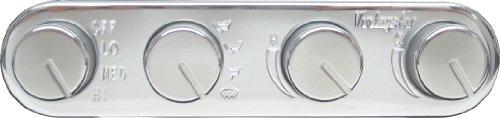 - Vintage Air 491200-RUA Streamline 4 Knob Control Panel