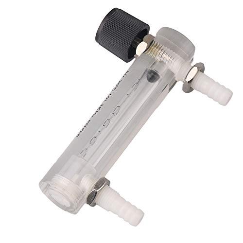Gas Flow 1000/ml//min Air Sauerstoff Gas Flow Meter Flowmeter mit Control Ventil f/ür Messung bqlzr 100