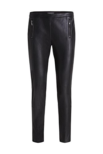 Outlet Great Deals Womens Aus Kunstleder Trousers EDC by Esprit Discount Exclusive Free Shipping Very Cheap Visa Payment For Sale Original Online mTzsca8q