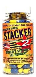 Stacker 2 gélules Fat Burner, sans théphédra, 100-Count Bottle