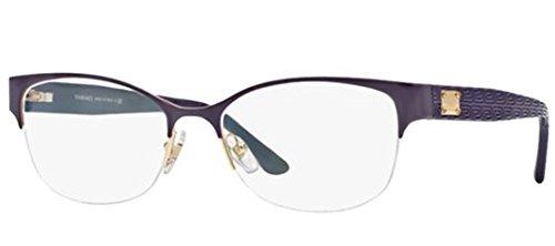 Versace VE1222 Eyeglass Frames 1345-53 - Gold